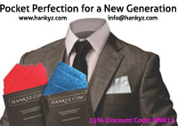 HANKYZ.com, the home of unique pocket squares