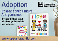 Adoption and Fostering - Make Space for a Child - Leicestershire County Council