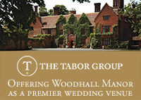 Woodhall Manor offers you an idyllic setting for your wedding and reception