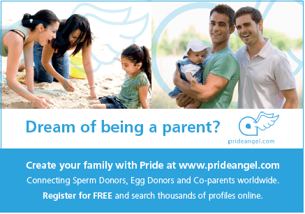 Dream of being a parent? Pride Angel