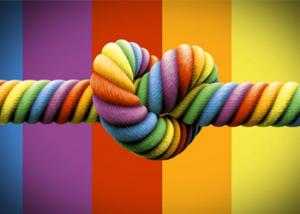 rainbow-knot