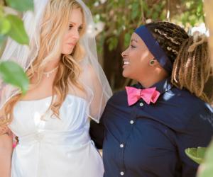 Brooke and Chelsea: Pink Weddings Couple Story