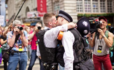 Special force: The London Pride engagement that went viral in 2016